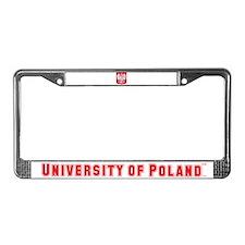 University of Poland - Madison Campus License Plat