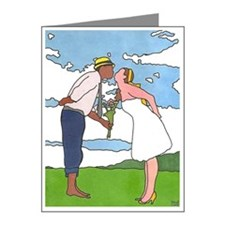 In Love 2 Note Cards (Pk of 20)