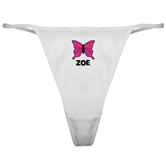 Butterfly - Zoe Classic Thong