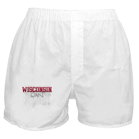 Wisconsin Boxer Shorts
