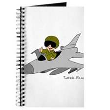 Child Fighter Jet Pilot Journal