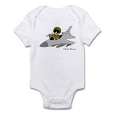 Child Fighter Jet Pilot Infant Bodysuit