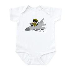 Child Fighter Jet Pilot Onesie