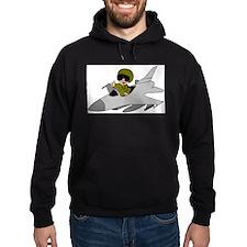 Child Fighter Jet Pilot Hoodie