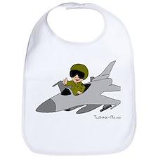 Child Fighter Jet Pilot Bib