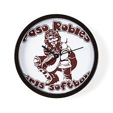 PASO ROBLES GIRLS SOFTBALL (4 Wall Clock