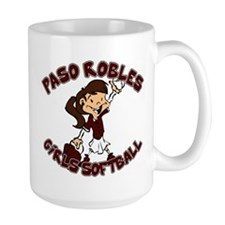 PASO ROBLES GIRLS SOFTBALL (6 Mug