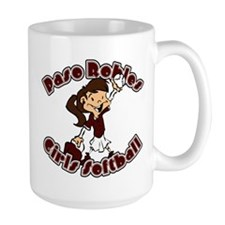 PASO ROBLES GIRLS SOFTBALL (1 Mug