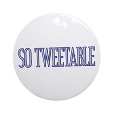Tweets Ornament (Round)