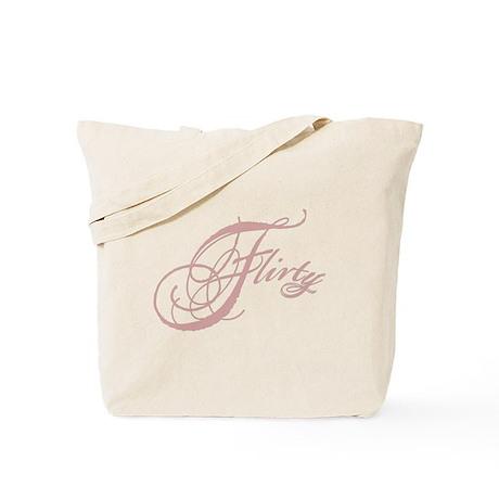 Flirty Girl Tote Bag