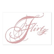 Flirty Girl Postcards (Package of 8)