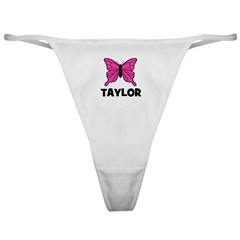 Butterfly - Taylor Classic Thong