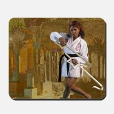 Sexy Kung Fu mouse pads Mousepad