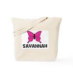 Butterfly - Savannah Tote Bag