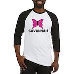 Butterfly - Savannah Baseball Jersey