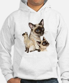 Siamese Cats Hoodie