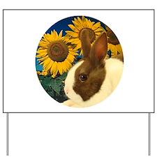 Cute Rabbit Yard Sign