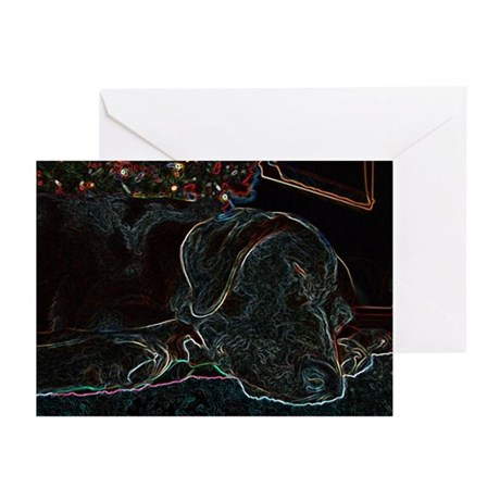 Glowing Holiday Lab Greeting Cards (Pk of 10)