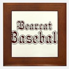 BEARCAT BASEBALL (1a) Framed Tile