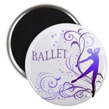 Ballet - scroll Magnet