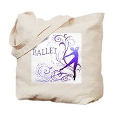 Ballet - scroll Tote Bag
