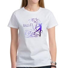 Ballet - scroll Tee