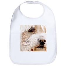 Maltese Terrier Bib