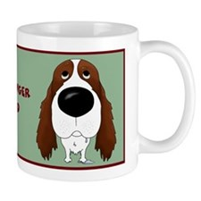 Big Nose Springer Spaniel Dad Mug