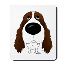 Big Nose Springer Spaniel Mousepad