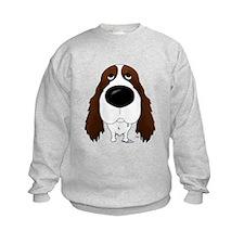 Big Nose Springer Spaniel Sweatshirt