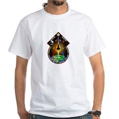 STS-129 White T-Shirt