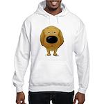 Big Nose/Butt Golden Hooded Sweatshirt