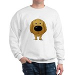 Big Nose/Butt Golden Sweatshirt