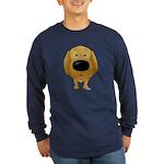 Big Nose Golden Long Sleeve Dark T-Shirt