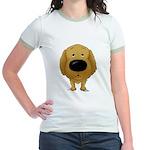 Big Nose/Butt Golden Jr. Ringer T-Shirt