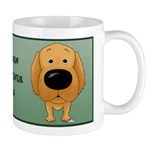 Golden Retriever Dad Big Nose Mug