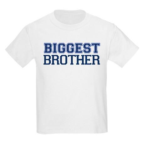biggest brother t-shirt varsity Kids Light T-Shirt