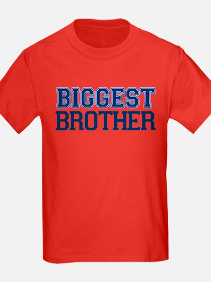 biggest brother t-shirt varsity T