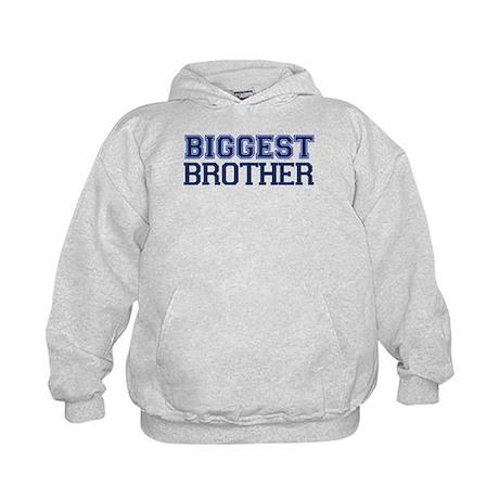 biggest brother t-shirt varsity Kids Hoodie