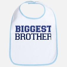 biggest brother t-shirt varsity Bib