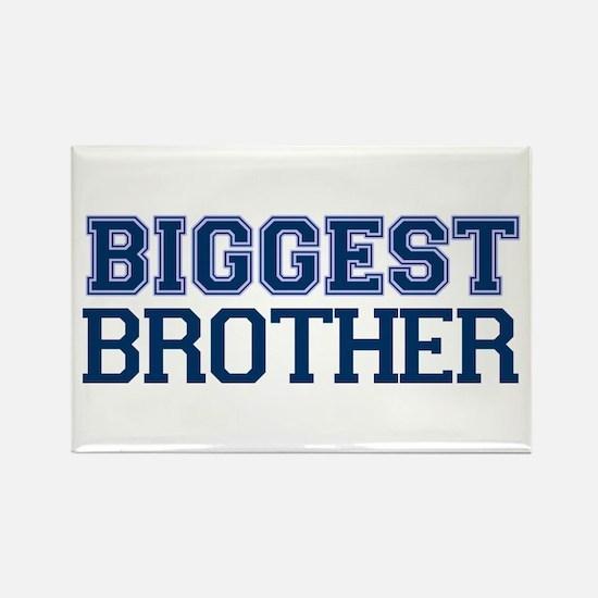 biggest brother t-shirt varsity Rectangle Magnet
