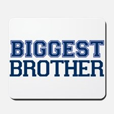 biggest brother t-shirt varsity Mousepad