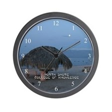 College of Knowledge Palapa Wall Clock