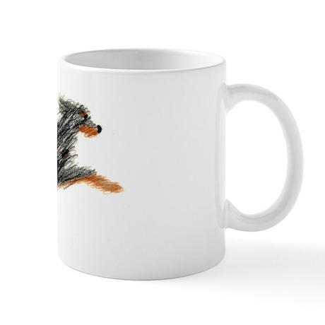 Leaping Gordon Setter Mug