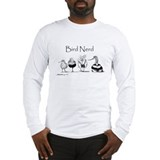 Bird wind over water Long Sleeve T-shirts