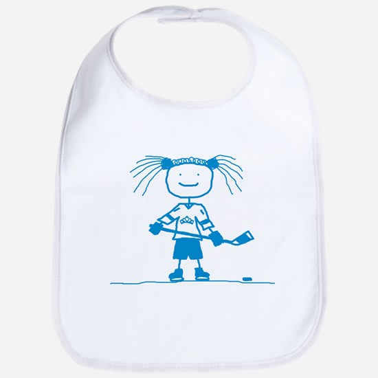 Ice Princess (blue) Bib