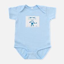 Ice Princess (blue) Infant Bodysuit