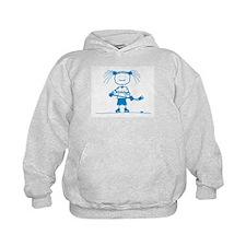 Ice Princess (blue) Hoodie