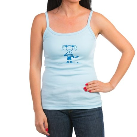 Ice Princess (blue) Jr. Spaghetti Tank