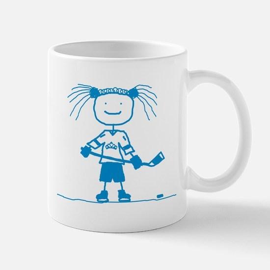 Ice Princess (blue) Mug